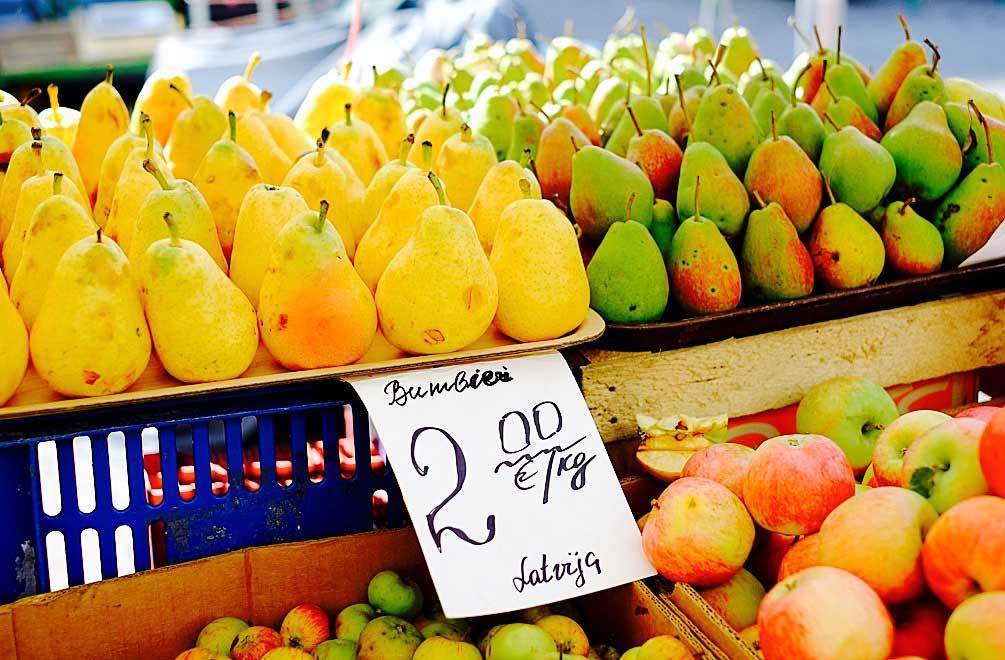 Frisches Obst ...
