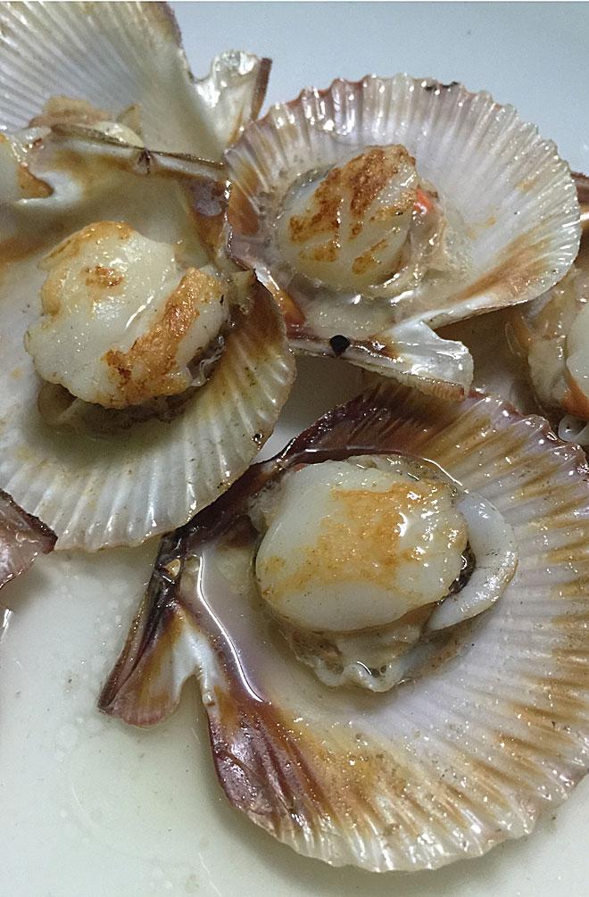 In A Coruña gibt es Meeresfrüchte an jeder Ecke